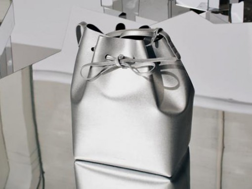 Mansur Gavriel x Opening Ceremony Silver Bags
