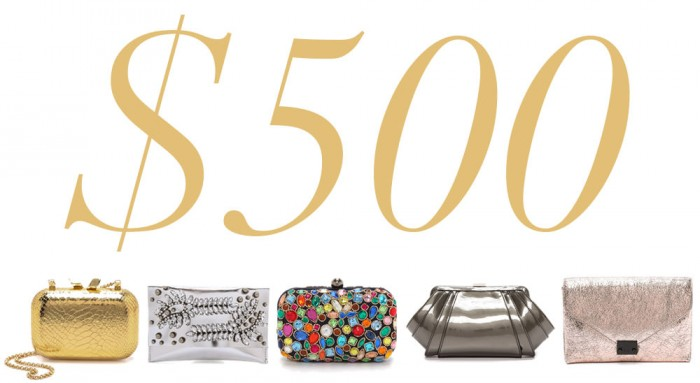 5 Under 500 New Year's Clutches
