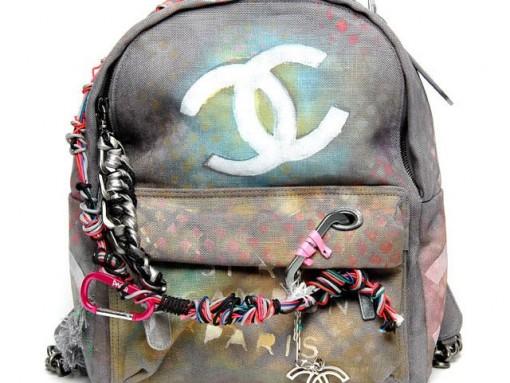 Chanel-Graffiti-Backpack
