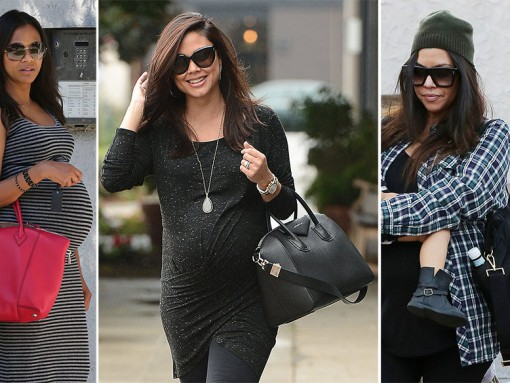 Pregnant Celebrity Handbags