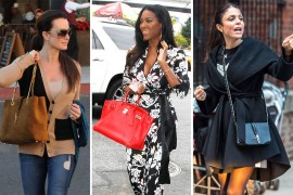 Let's Check in with Our Favorite Real Housewives and Their Handbags