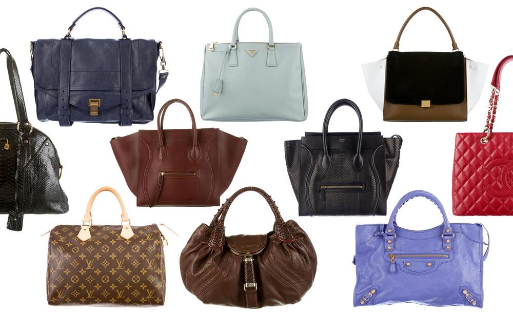 Vintage Women Handbag PU Leather Top Handle Bag Luxury ...  Top Designer Handbags
