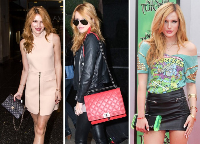 The Many Bags of Bella Thorne