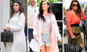 The Many Bags of Kourtney Kardashian