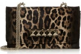 Valentino VaVaVoom Leopard Shoulder Bag