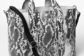 Gap-Python-Embossed-Leather-Tote