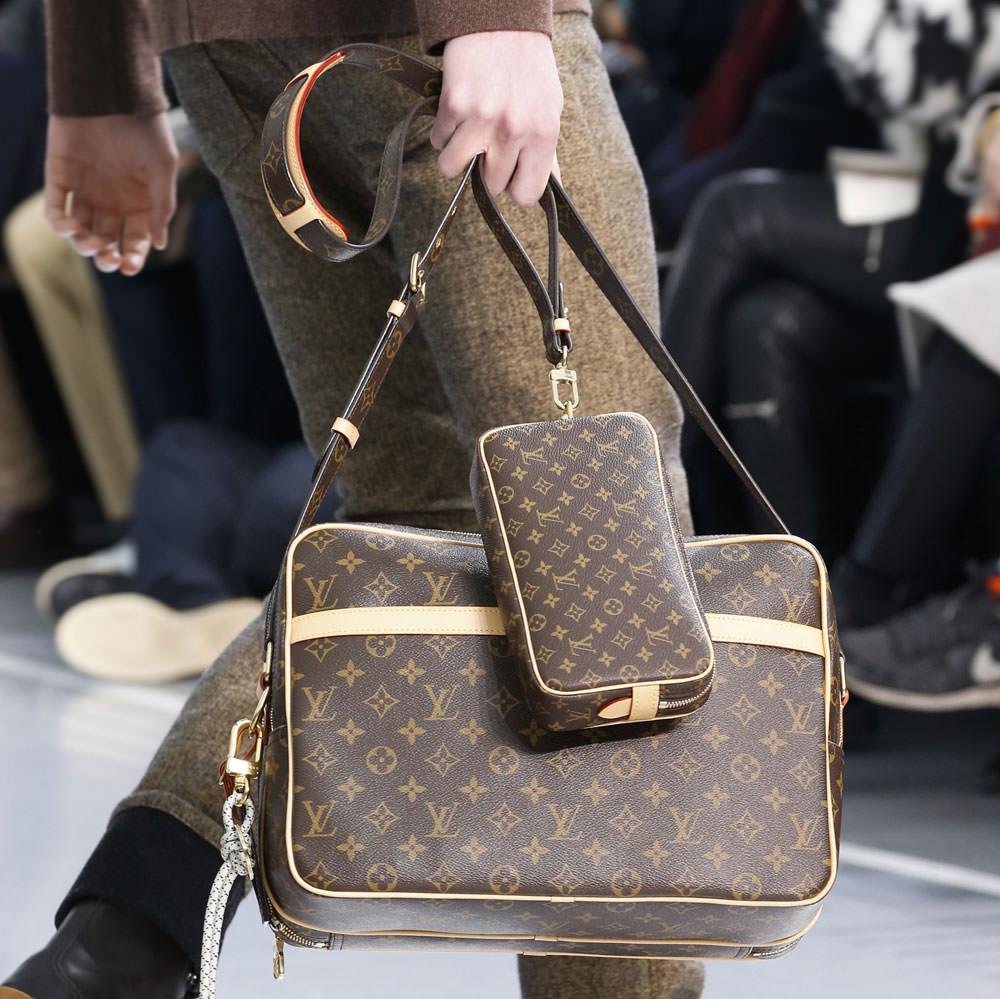 Monogram Makes a Major Comeback at Louis Vuitton's Fall ...
