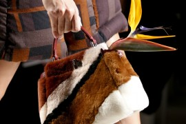 Check Out Fendi's Fall 2015 Runway Bags, Flowers Not Included