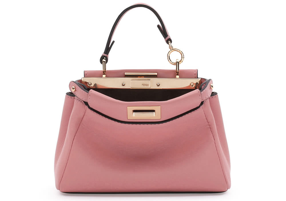 Fendi Micro Peekaboo Satchel Bag