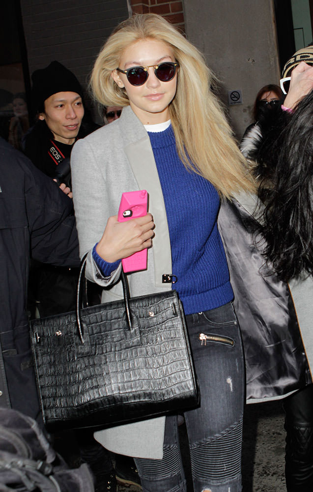 celine handbags for sale online - The Many Bags of New York Fashion Week Fall 2015's Celebrity ...