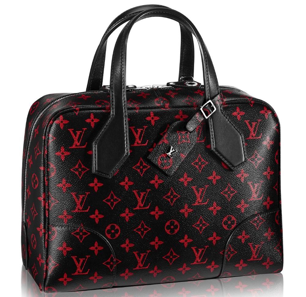 Louis Vuitton Soft Dora Monogram Infrarouge