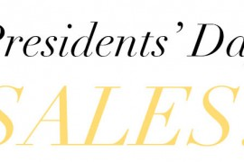 Check Out All the Sales the Presidents' Day Weekend 2015 Has to Offer, Starting Today