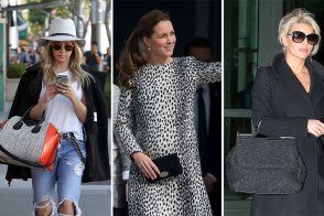 "Last Week, Celebs were Fond of Floppy Hats & Bold New Versions of Established ""It"" Bags"