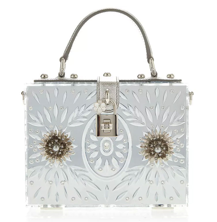 Dolce-&-Gabbana-Plexi-Embellished-Dolce-Bag