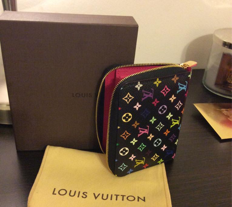 Louis-Vuitton-Monogram-Multicolore-Wallet