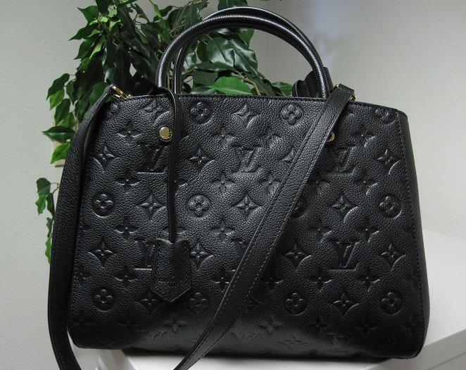 Louis-Vuitton-Montaigne-Monogram-Empreinte-Bag
