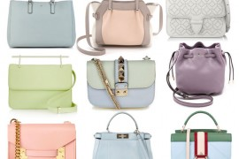 26 Pretty, Pale Bags to Add a Note of Spring to Your Wardrobe