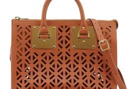 Sophie Hulme Holmes Cutout Leather Bag