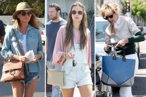 Springtime Brings All the Best Celebs (and Their Bags) Out of Hibernation