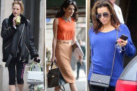 Celebs Continue to Make Solid Spring Bag Choices
