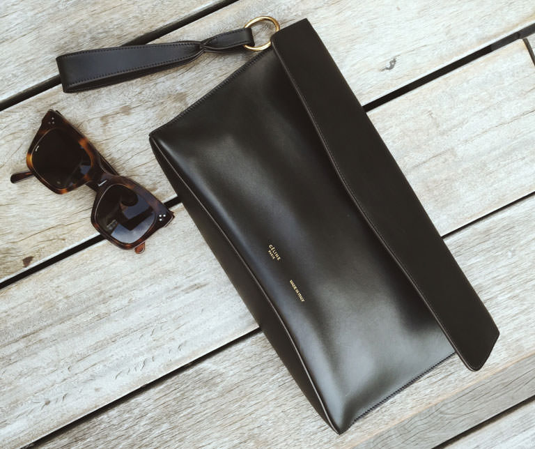 Celine-Clutch-and-Sunglasses