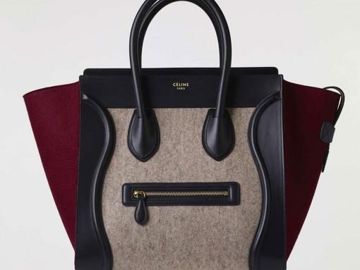 Celine-Mini-Luggage-Tote-Tricolor