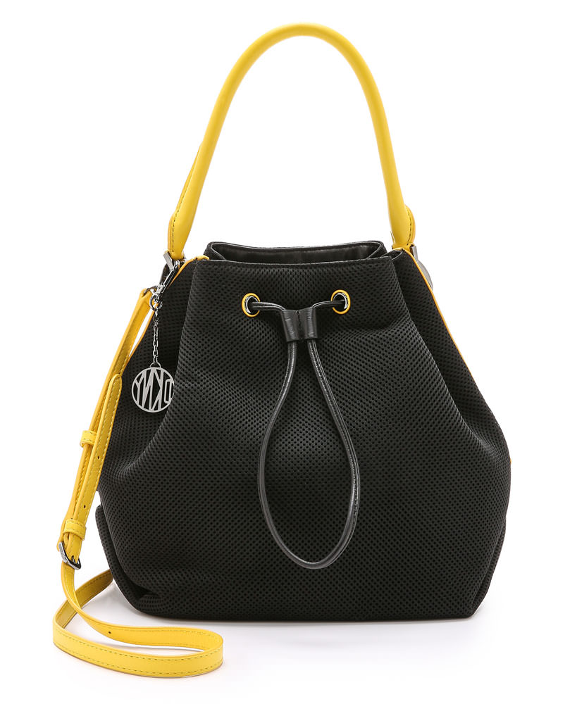 Stone & Co. handbags provide solid style. This Stone & Co. bucket bag features a leather construction that looks superior with any outfit. Watch the product video here.