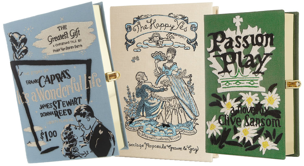 Now's Your Chance to Own an Olympia Le-Tan Book Clutch at ...