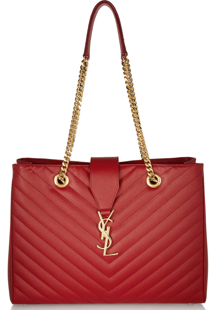 Saint-Laurent-Monogramme-Quilted-Tote