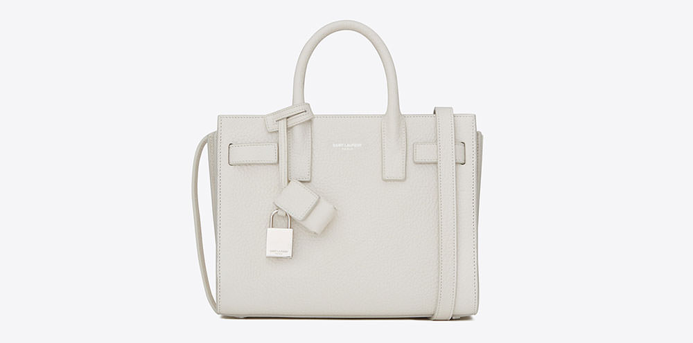 yves saint laurent small sac de jour smooth leather tote