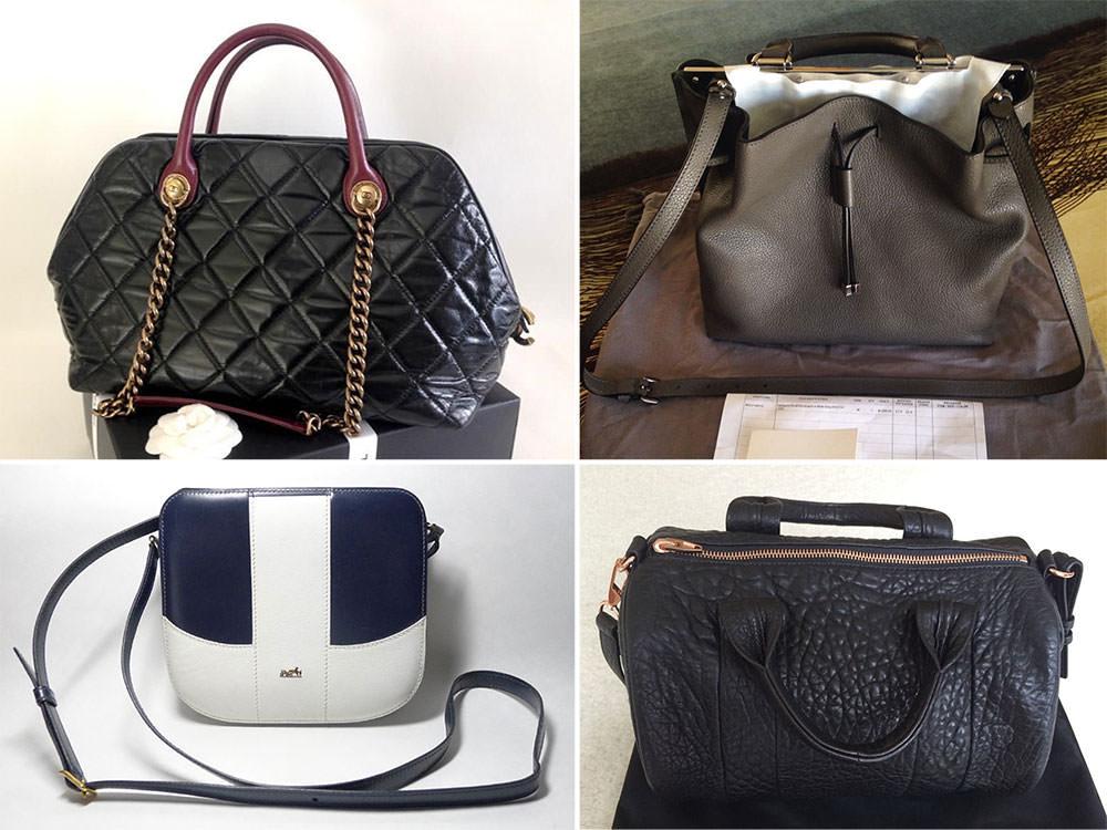 ebay 39 s 12 best designer handbags and accessory finds. Black Bedroom Furniture Sets. Home Design Ideas