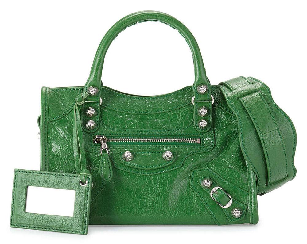 Balenciaga-Giant-Mini-City-Green