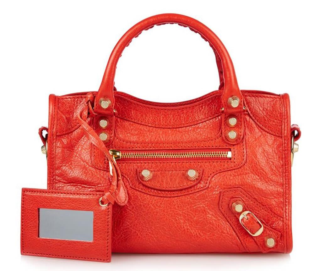 Balenciaga-Giant-Mini-City-Red