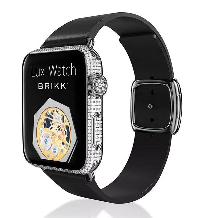 Brikk-Apple-Watch-Platinum-Diamonds-and-Leather-42mm