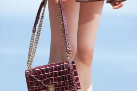 Check Out Dior's Cruise 2016 Bags, Straight from the Runway