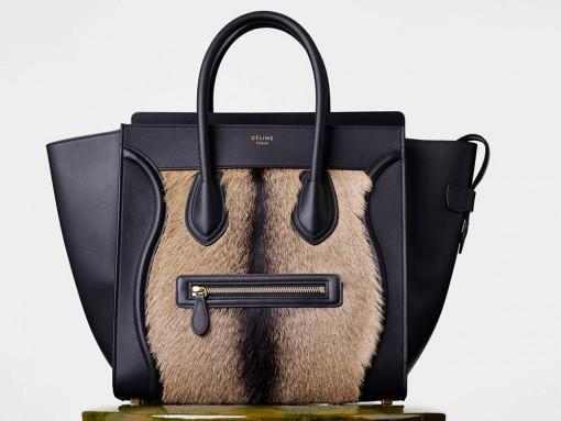 Celine-Mini-Luggage-Tote-Goat-Fur-3900