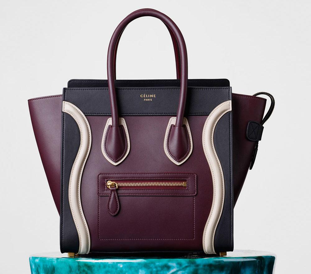 celine micro luggage colors