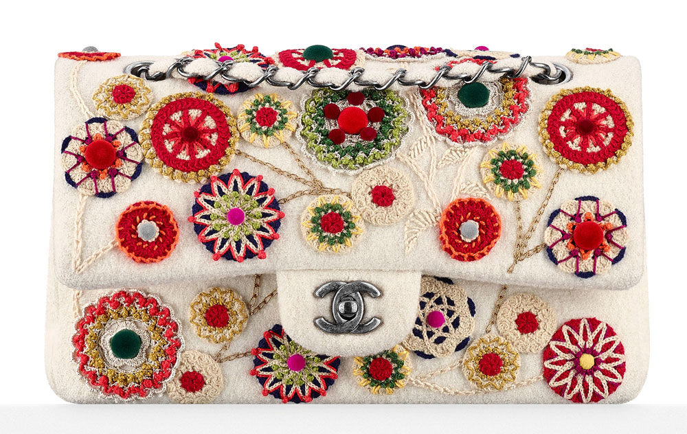 Chanel-Embroidered-Felt-Classic-Flap-Bag