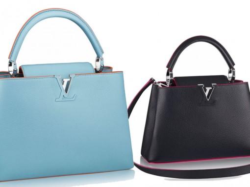 Louis Vuitton Capucines with Contrast Detail