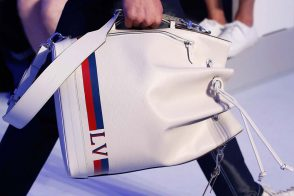 At Louis Vuitton's Spring 2016 Men's Show, the Bucket Bags Weren't Just for Women