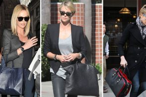 The Many Bags of Charlize Theron