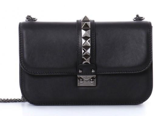 Valentino-Rockstud-Noir-Lock-Bag