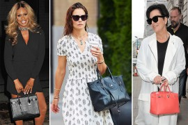 This Week, Celebrities Enjoy their Endless Vacations with Classic Handbag Choices