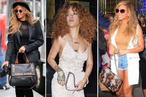 There's a Double Portion of Beyoncé and a Bonus Helping of Rihanna in this Week's Celeb Handbag Round-Up