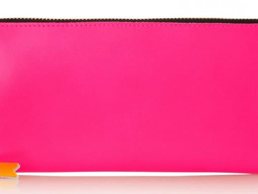 Comme des Garcons Neon Continental Wallet, $280 via Net-a-Porter