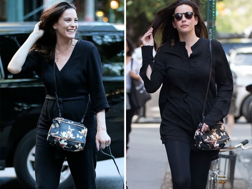 Liv-Tyler-Givenchy-Floral-Mini-Pandora-Bag