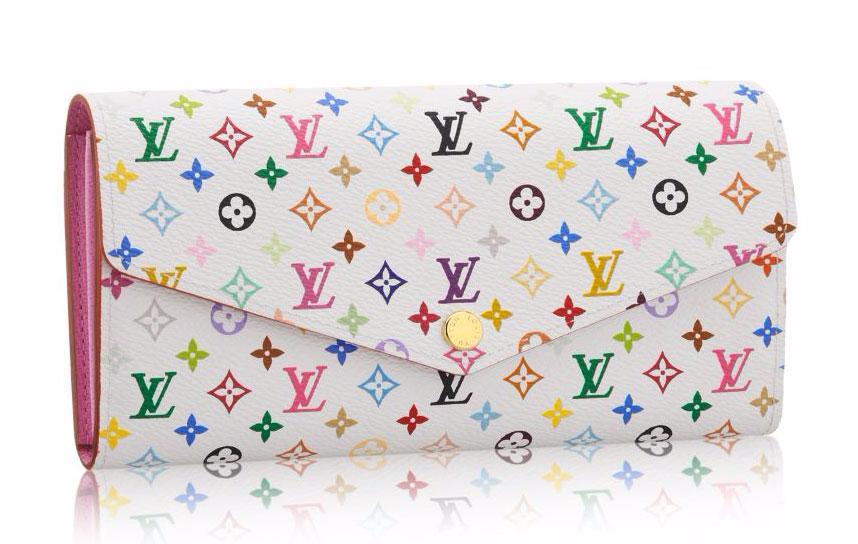 Louis-Vuitton-Monogram-Multicolore-Sara-Wallet