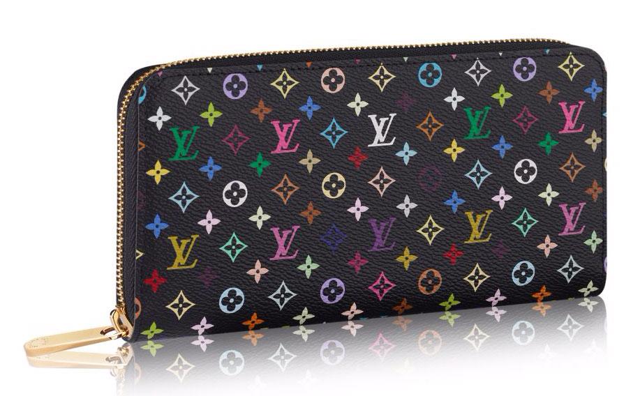 Louis-Vuitton-Monogram-Multicolore-Zippy-Wallet