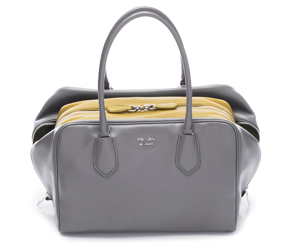 Prada Inside Bag Soft Calf Marmo Salvia 01