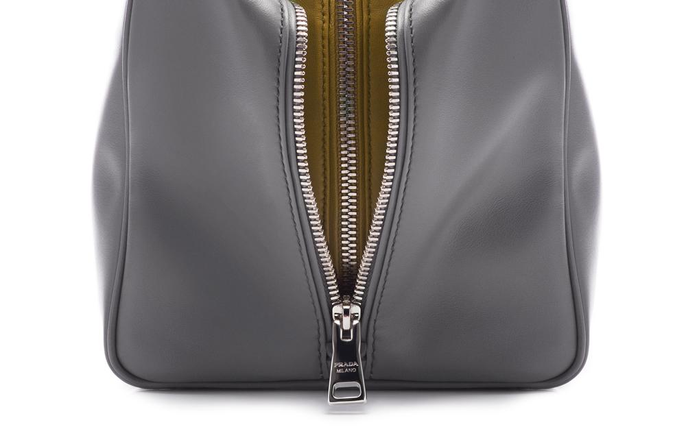 Prada Inside Bag Soft Calf  Marmo Salvia Detail 02